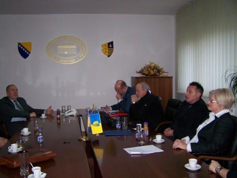Sastanak sa delegacijom KUCS